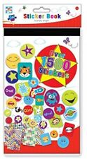 Anker Kids Create Arts And Crafts Sticker Book, Plastic, Assorted Colour,