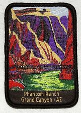Official Phantom Ranch Patch Grand Canyon National Park