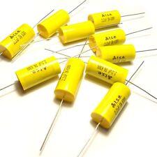 Condensador de 10x 2.2uF 630 V 5% Polipropileno Axial Válvula de película de metal vintage UK