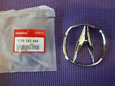 "New Genuine OEM Acura TSX RDX Front Grille ""A"" Chrome Emblem Badge 75700-SEC-A00"