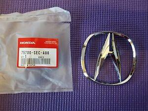 "Fits Genuine Acura TSX RDX Front Grille ""A"" Chrome Emblem Badge 75700-SEC-A00"