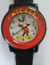 Mickey Mouse Wrist Watch, Lorus Quartz, V811
