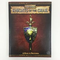 WARHAMMER FANTASY ROLEPLAY KNIGHTS OF THE GRAIL GUIDE TO BRETONNIA HARDBACK 2006