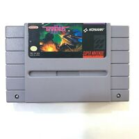 Gradius III 3 Super Nintendo SNES Game - Cleaned - Tested & Authentic!