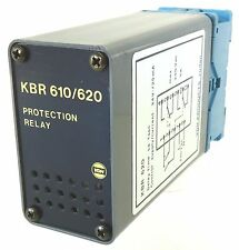 Vdh kbr 620 Protection Relay protección relés delay 1sec 220v ~ Finder 90.112 zócalo