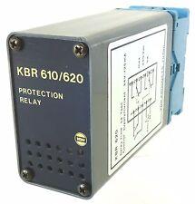 VDH KBR 620 Protection Relay Schutzrelais Delay 1sec 220V~ Finder 90.112 Sockel