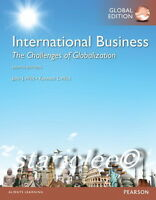 NEW International Business The Challenges of Globalization 8E Wild 8th Edition