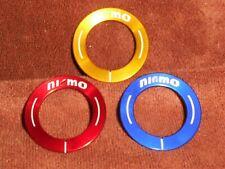 Alu - Ringe für Start / Stop Schalter in div Farben passend für Nissan rot