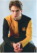 ROBERT PATTINSON - Signed 12x8 Photograph - FILM - HARRY POTTER