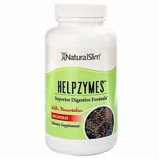Helpzymes NaturalSlim Superior Digestive Enzymes HLC Acid Pancreatin Formulated