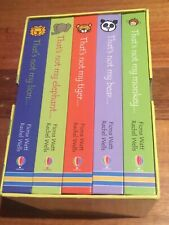 """Thats Not My... """"Wild Animals"""" Collection - Usborne touchy-feely books (RARE)"""