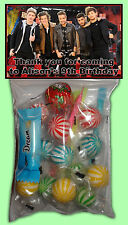 Personalised One Direction Lolly Bags Set of 8 - Party Loot favour - 1D Designs