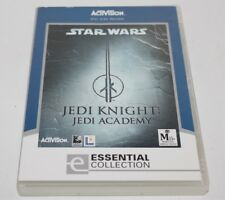 STAR WARS JEDI KNIGHT JEDI ACADEMY PC GAME ONE OF THE BEST STAR WARS GAMES MADE