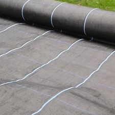 FABREX-100 1m x 25m Ground Cover Membrane, Weed Suppressant Fabric, 100gsm THICK