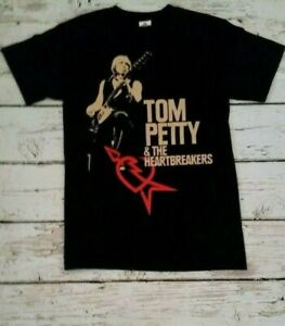 NEW -TOM PETTY & THE HEARTBREAKERS -  BAND T-SHIRT