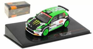 IXO RAM773 Skoda Fabia R5 EVO #27 Monza Rally 2020 - Oliver Solberg 1/43 Scale