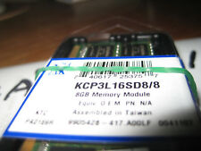 *new Kingston 8GB  KCP3L16SD8/8  Laptop DDR3L-1600 1.35V(1x8GB) **sealed****