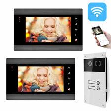 Mehrfamilienhaus WLAN Video Türsprechanlage Gegensprechanlage Smarthone APP