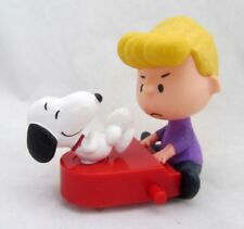 McDonald's 2015 The Peanuts Movie #9 Schroeder and Snoopy Happy Meal Toy NIP