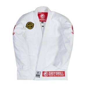 Top Selling Shoyoroll Cut Professional Jiu Jitsu gi Uniform/ Custom Made BJJ Gis
