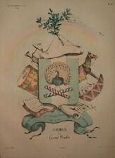 LLCA 127 LA CARICATURE 1832 ARMES DU GRAND POULOT Fils de L.Philippe by Philipon