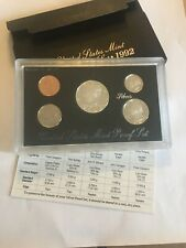 1992 S United States Mint Silver Proof Set In Original Packaging