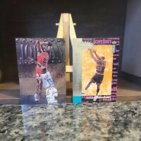 Michael Jordan (Lot of 2) Fleer Metal Universe and Upper Deck CC Near Mint 💎📦