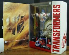 TRANSFORMERS AGE OF EXTINCTION AOE FIRST EDITION OPTIMUS PRIME LEADER CLASS MIB