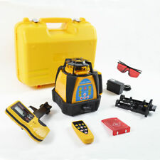 SELF-LEVELING ROTARY/ ROTATING LASER LEVEL NEW 500M RANGE HIGH ACCURACY