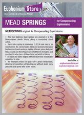 Steven Mead Springs - Original Strength for Euphoniums- Besson, York, etc.