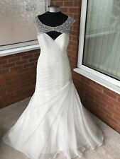 a1ef4bb3de0a MORI LEE WEDDING DRESS IVORY SIZE UK 14 (ONE ONLY)