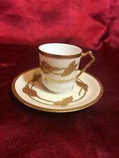 New ListingVintage Raphael Weill & Co San Francisco France Limoges Demitasse Cup and Saucer