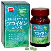 Mozuku Fucoidan Extract 250mg x 120 caps (Kenko Foods) From Japan