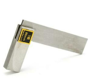 Machinist Square 90º Right Angle Engineer 3'' Carbon Steel Measure Tool