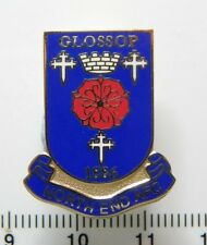 Glossop North End Football Club Enamel Badge - Non League Football Clubs -