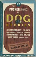Pocket Book 187 Pocket Book of Dog Stories MacKinlay Kantor Vintage Paperback