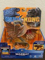"Playmates Monsterverse Godzilla vs Kong 6"" WARBAT W/ OSPREY Figure NEW!"