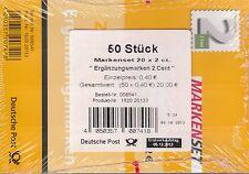 BRD/Bund 50 mal 3045 Folienblatt 34 Ergänzungsmarke 2 Cent postfrisch (P-1502)
