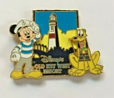 Disney Pin Badge Old Key West Resort Logo (Mickey Mouse & Pluto)