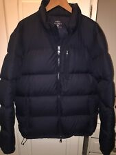Polo Ralph Lauren Down Puffer Jacket With Detachable Hood - Blue - Large