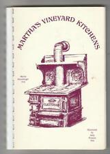 MARTHA'S VINEYARD KITCHENS * MA VINTAGE LOCAL COOK BOOK by MAREN MANSBERGER FEIL