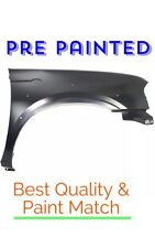 PRE PAINTED Passenger Fender for 2001-2004 Nissan Frontier 3.3L  w FREE Touchup