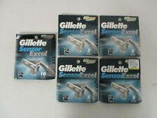 30 GILLETTE SENSOR EXCEL REFILL CARTRIDGES FOR MEN - SEALED - MP 935R