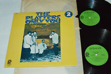 THE PLATTERS Only You 2-LP Pickwick Canada PTP-2083 VG/VG/VG Best of Hits Soul