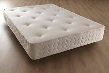 LUXURY MEMORY FOAM ORTHOPAEDIC SPRUNG MATTRESS - 4 FT 6 DOUBLE SIZE