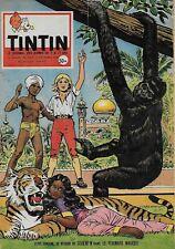 JOURNAL DE TINTIN N° 529 DEC. 1958 - COUVERTURE CORENTIN PAR PAUL CUVELIER