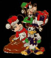 Disney Mickey, Goofy & Donald Christmas Advent Pin LE 1000 Walt Disney 2007
