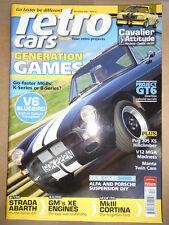 Retro Cars Dec 2006 Strada Abarth, V6 Bluebird, MGB