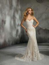Mori Lee 8278 Size 12 GENUINE Wedding Dress Ivory With tags
