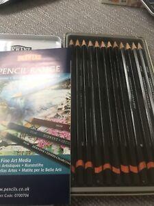 Derwent Graphic Medium Pencils New
